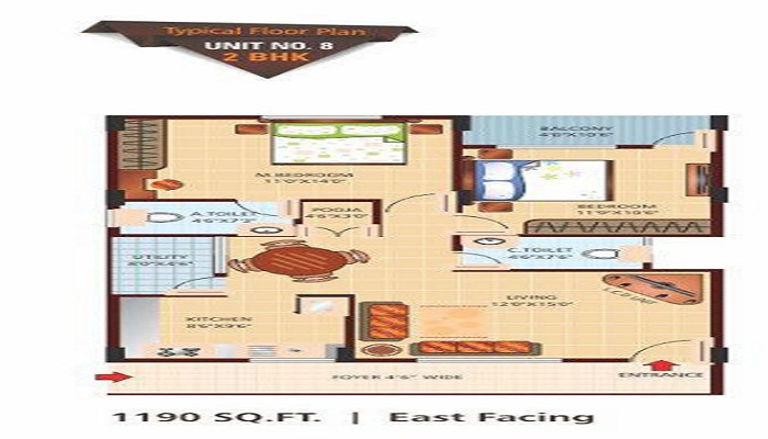5 Elements Vasundhara Heights Floor Plan