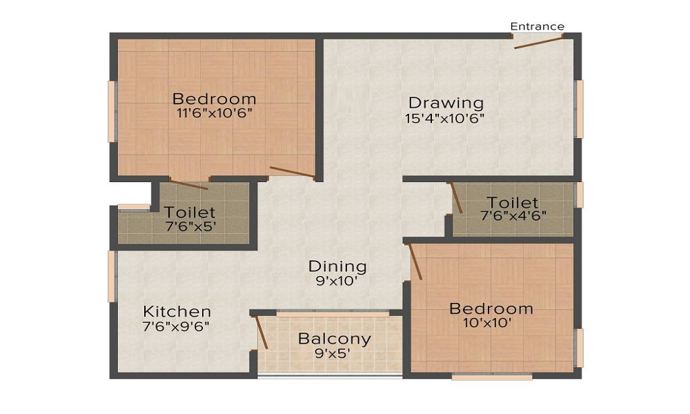 Aashrayaa Eternia Floor Plan