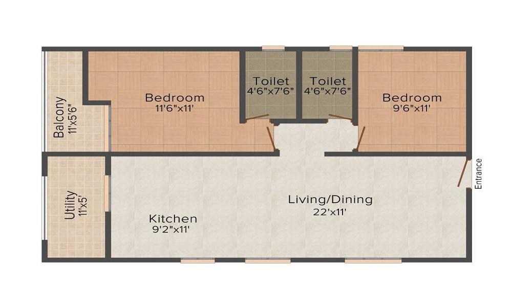 Aashrayaa Onyx Floor Plan