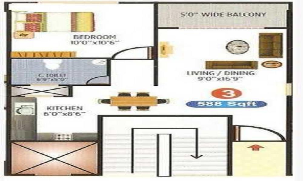 Ambiance Ample Floor Plan