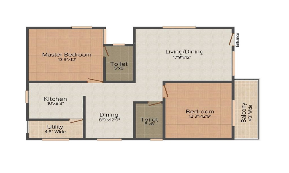 Ambiance Aspen Floor Plan