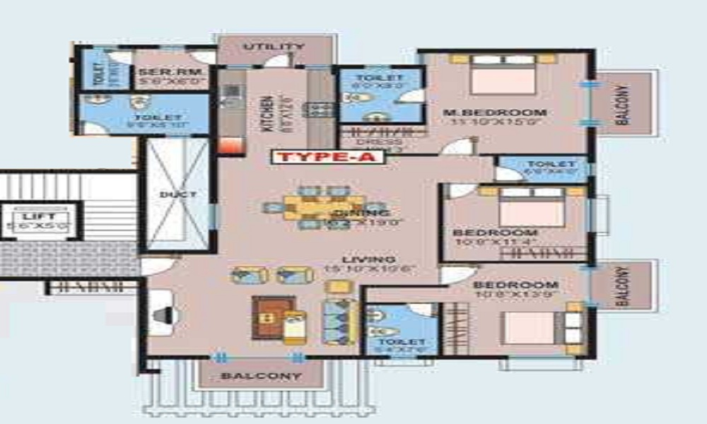 Arya Severia Floor Plan