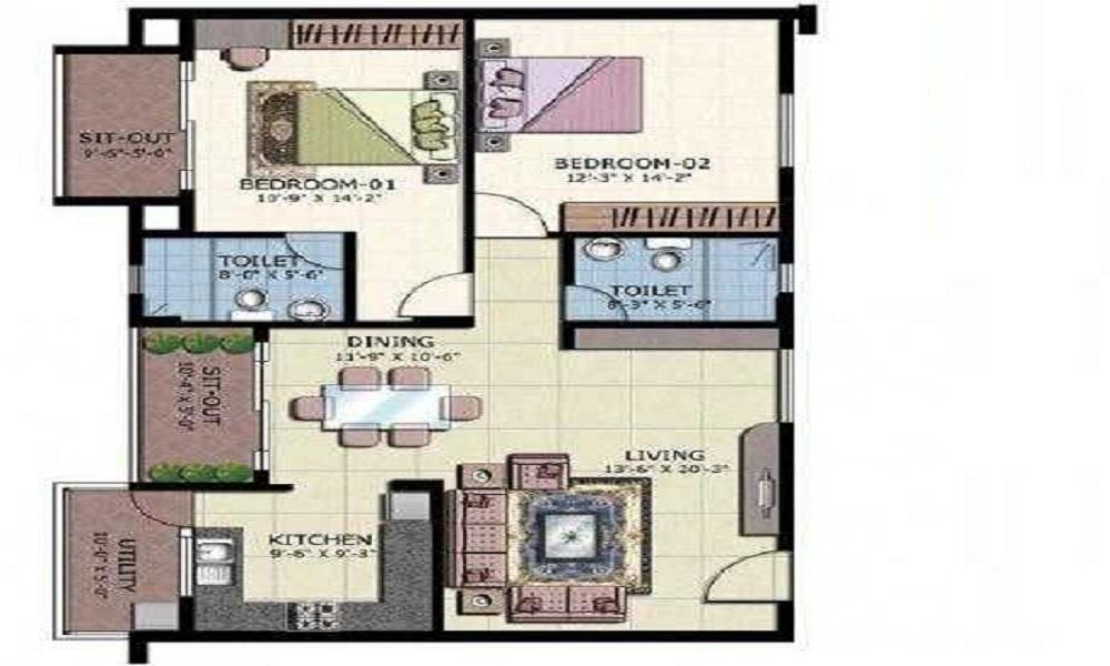 ATZ Splendor Floor Plan