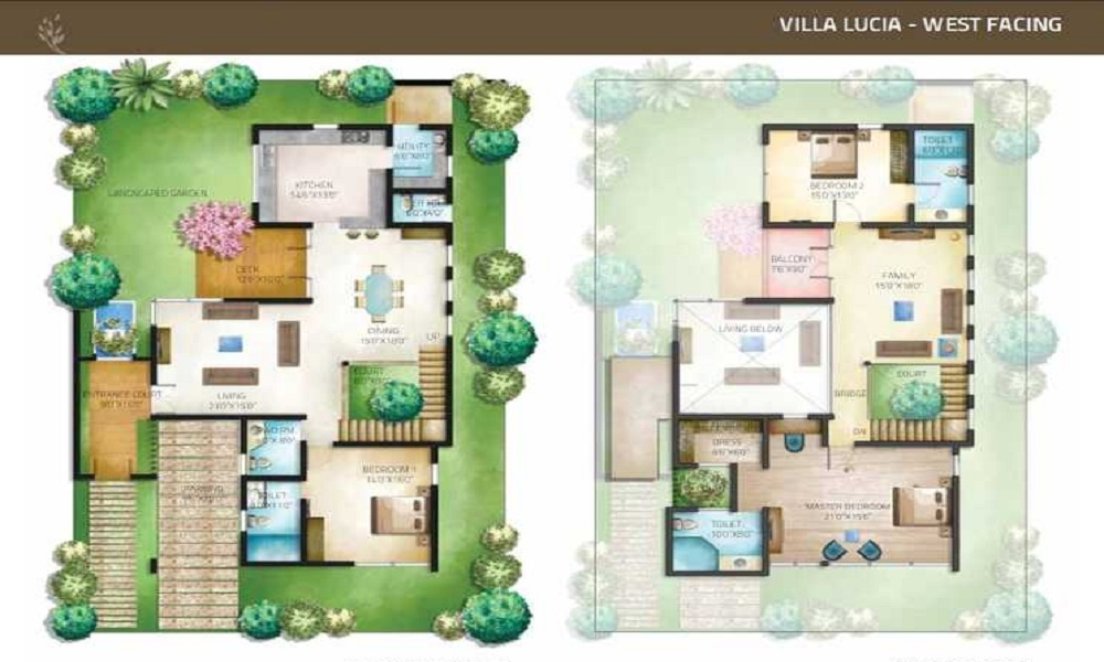 Aurelia Tropical Nirvana Floor Plan