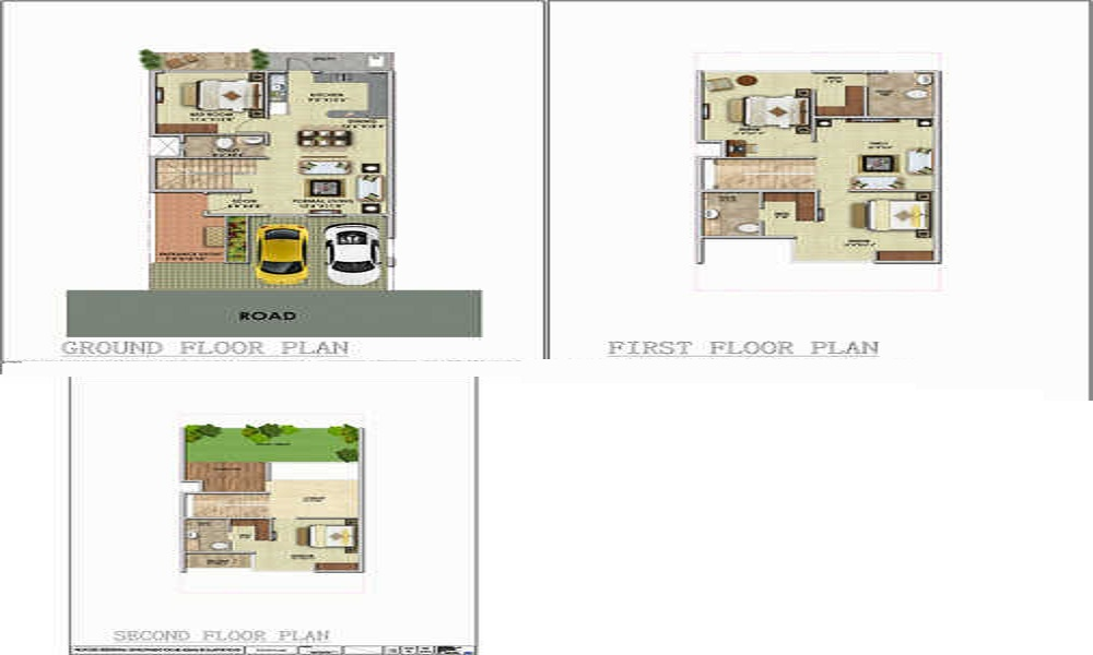 AV Serene Street Floor Plan
