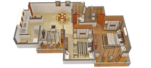 Bren Unity Floor Plan