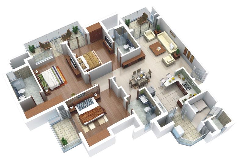 Brigade Palace Floor Plan