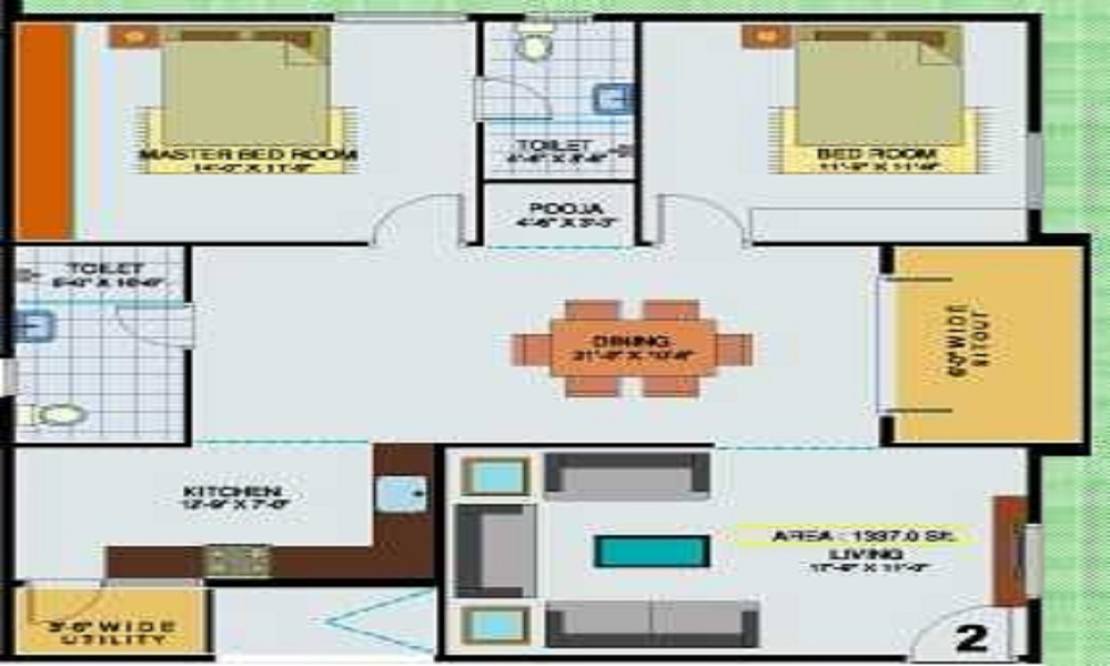 BSR Bule Solitaire Floor Plan