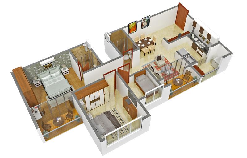 BVL Enchanting Enclave Floor Plan