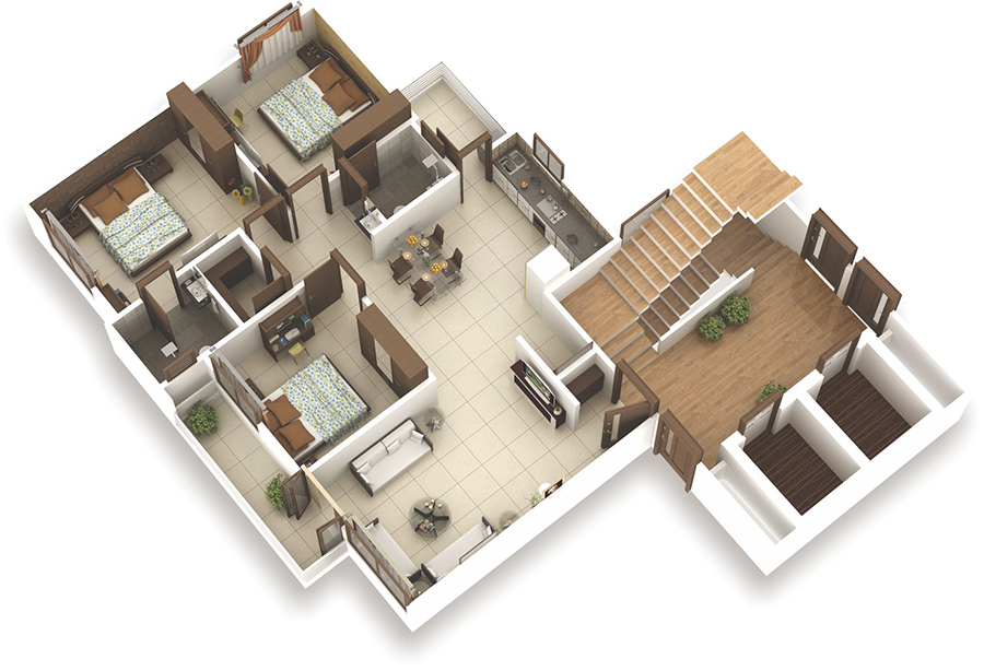 Chethana Green Park Floor Plan