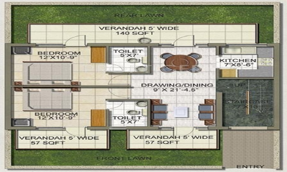 S S The Lilac Floor Plan
