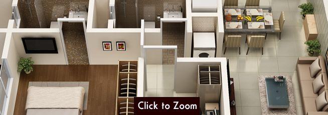 DKR Virat Towers Floor Plan