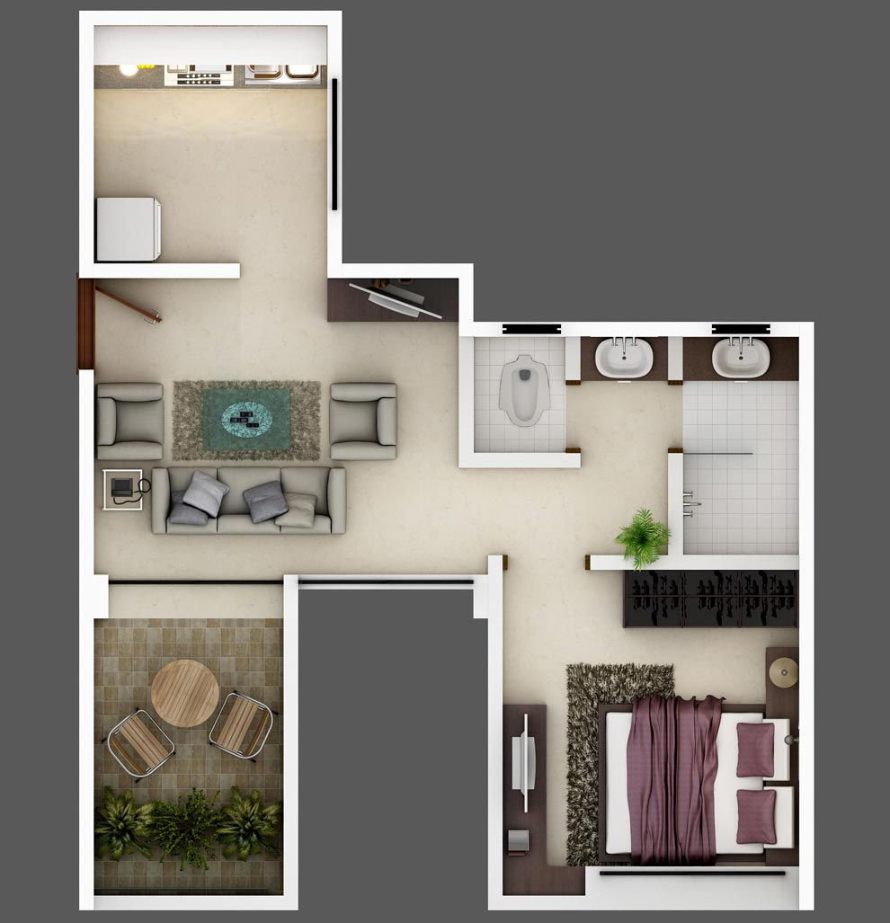 DRA Ranka Chambers Floor Plan