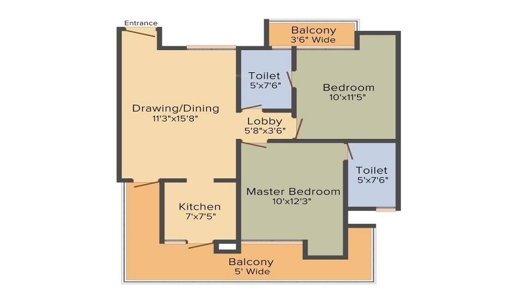 Ace City Floor Plan
