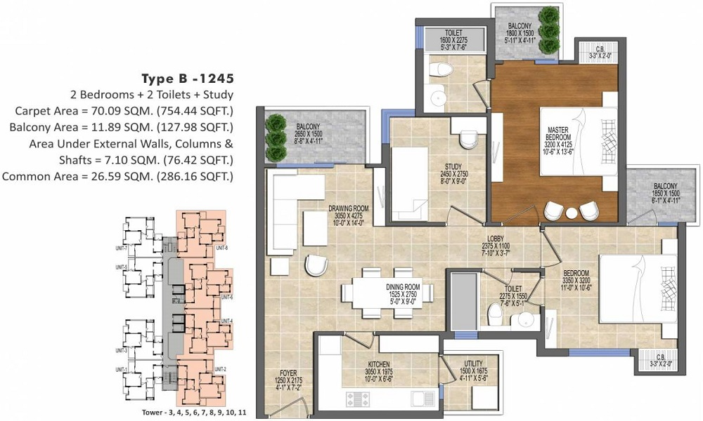 ACE Divino Floor Plan