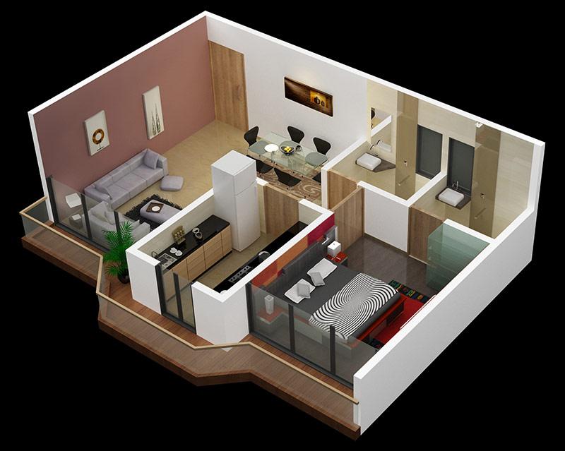 Elegant Privilege Floor Plan