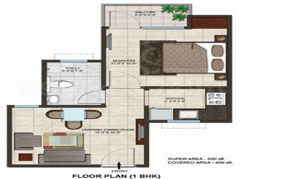 ACL Vasant Heights Floor Plan