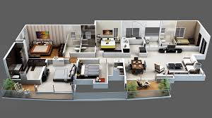 Fire Luxur Villa Tranquila Floor Plan