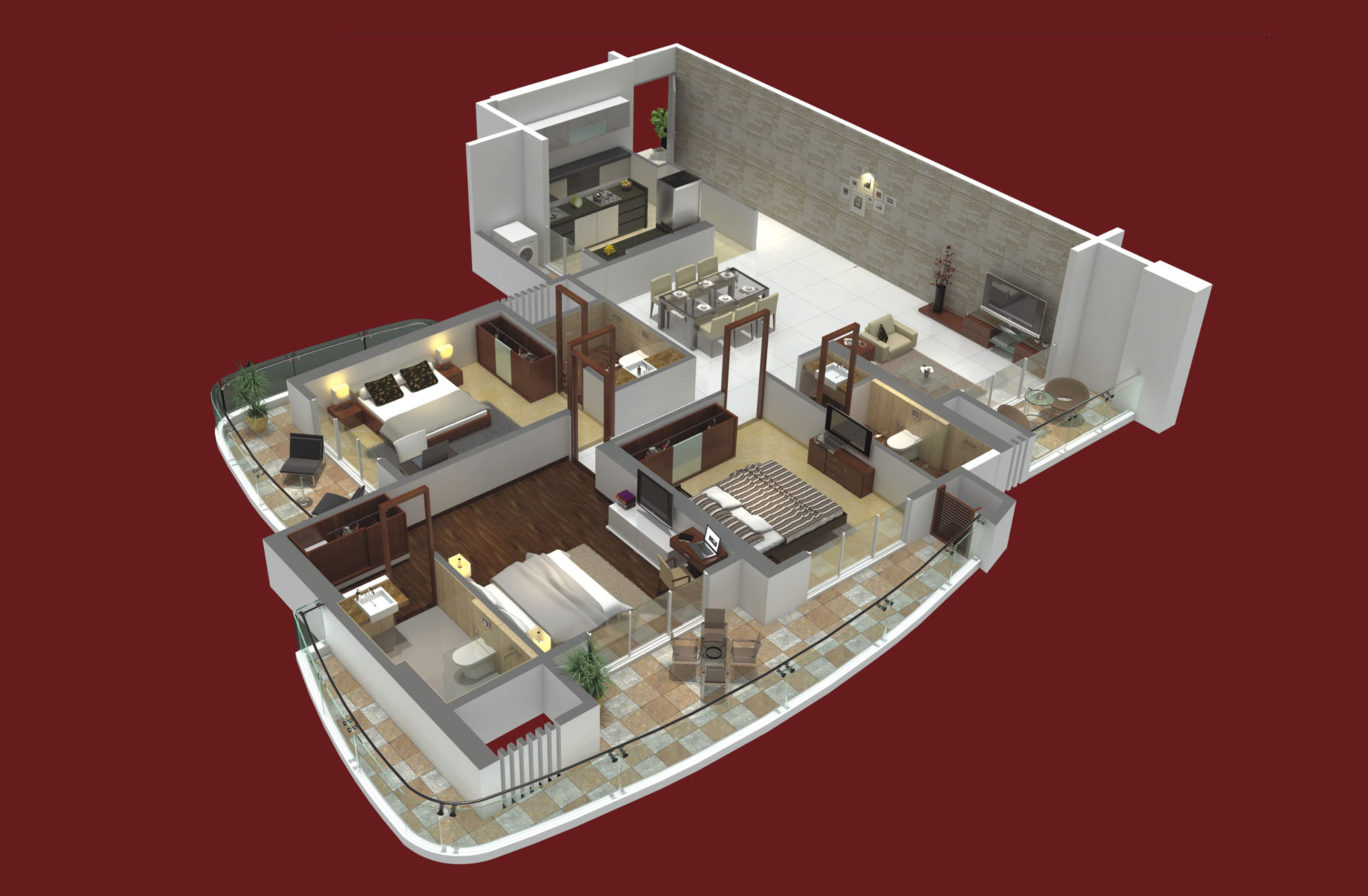 G R Brundavan Floor Plan