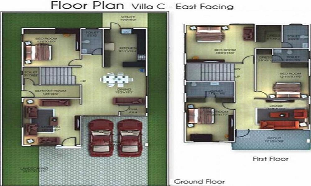 Golden Golden Homes III Floor Plan