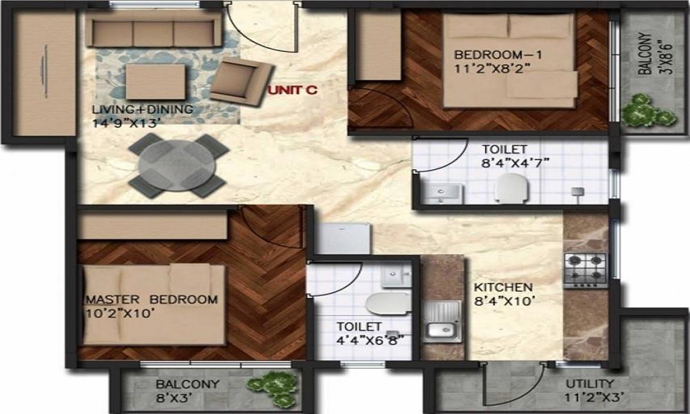 Govianu Crescent Floor Plan