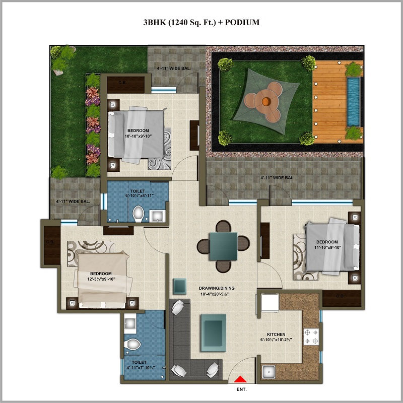 HM Symphony Concord Tower Floor Plan