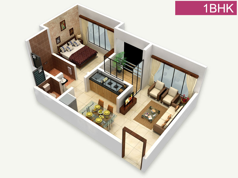 Indya Estates Sky View Floor Plan