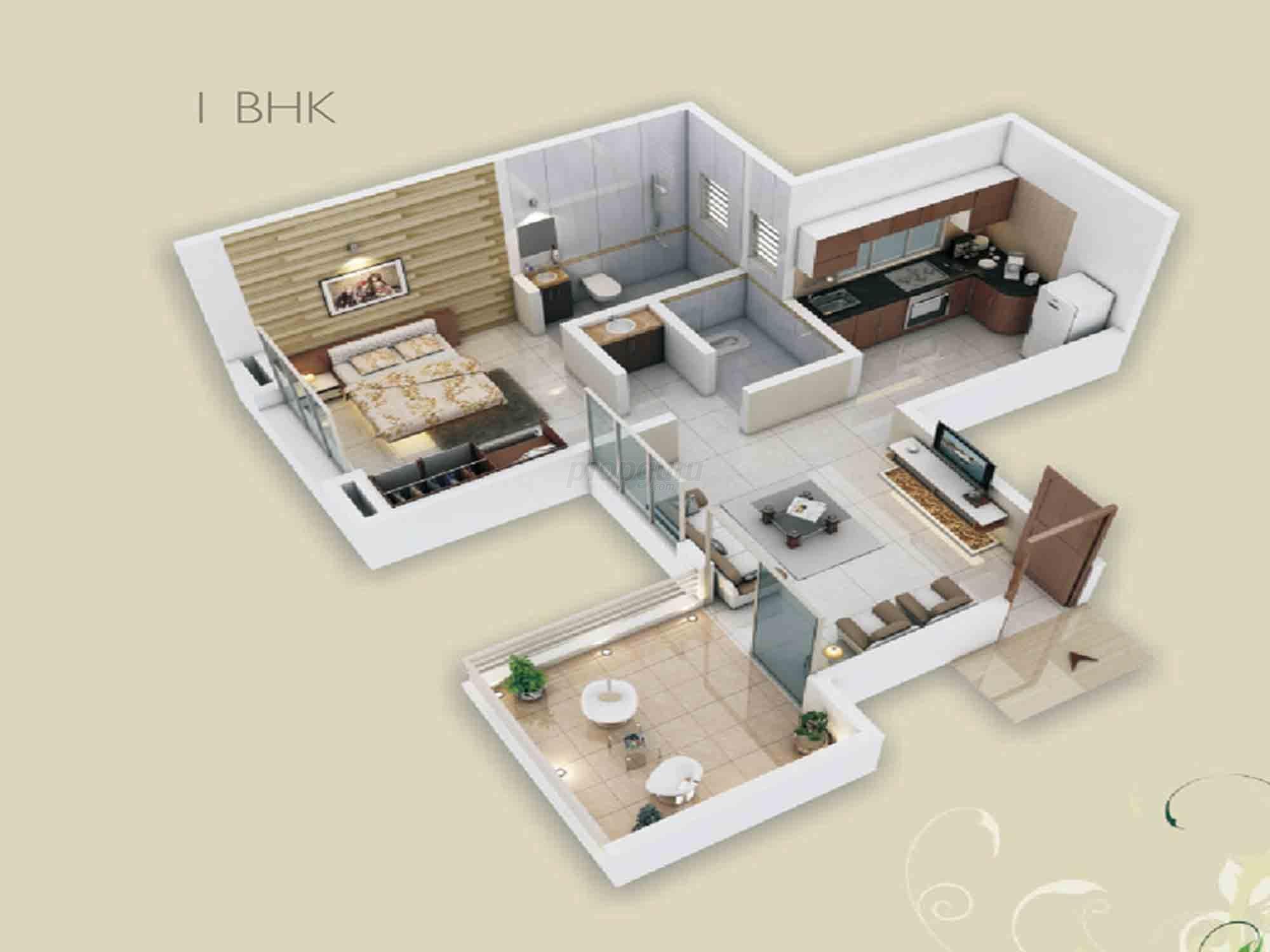 Kalpataru Residency Floor Plan