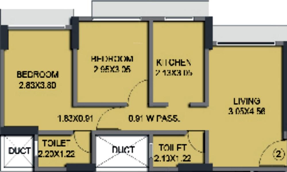 Ace Aspire Floor Plan