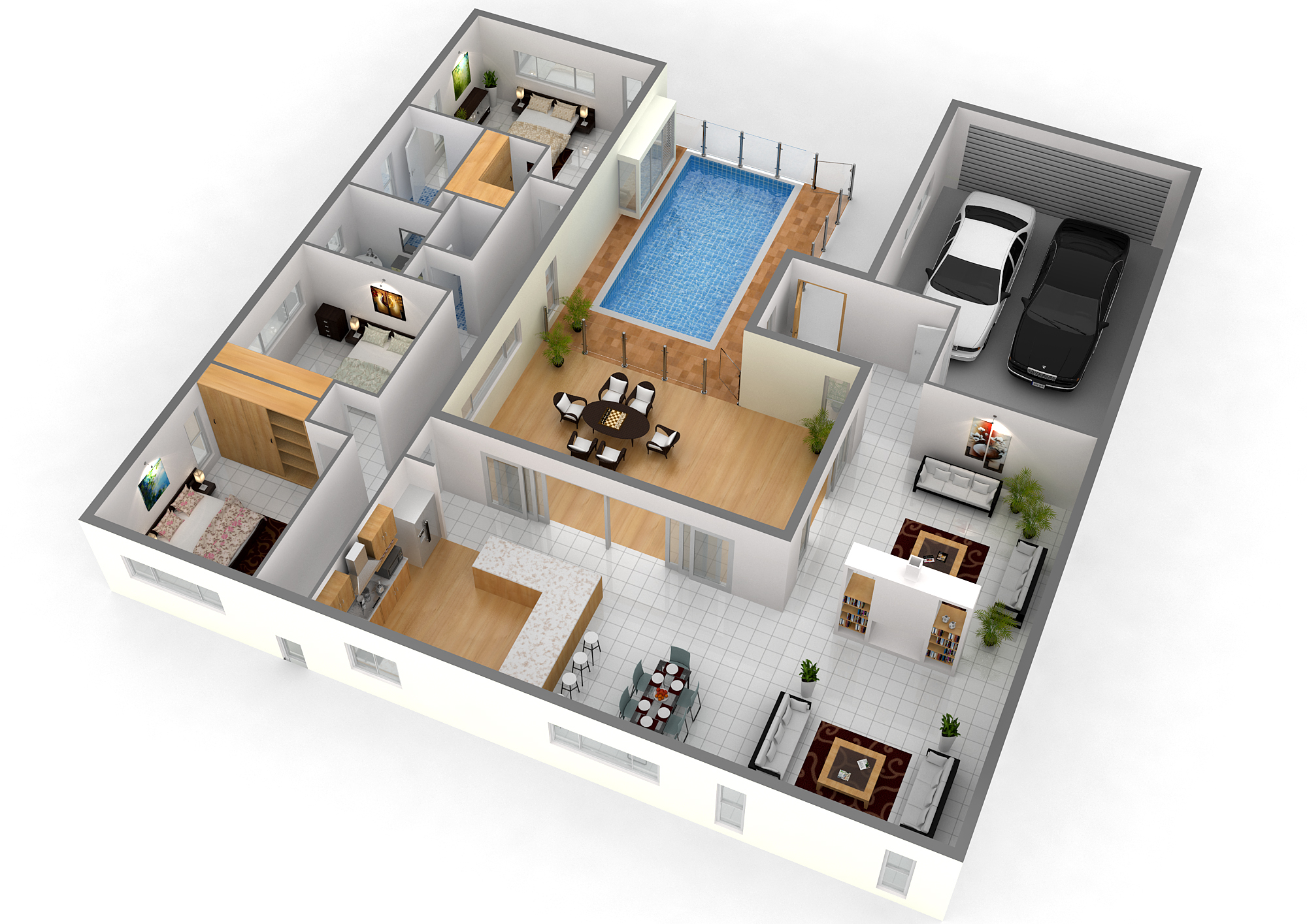 Manito Srinidhi Avenue Floor Plan