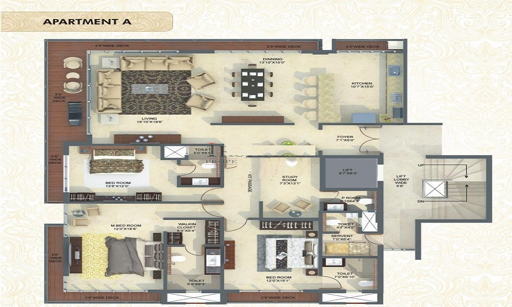 Mittal Luxuria Floor Plan