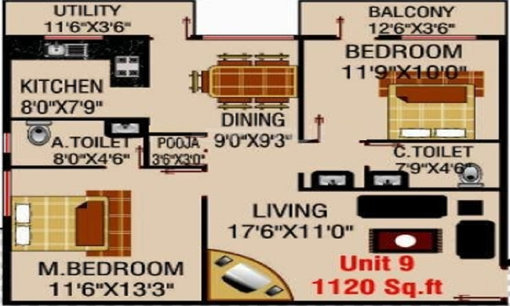MSK Lakvin Shelters Floor Plan