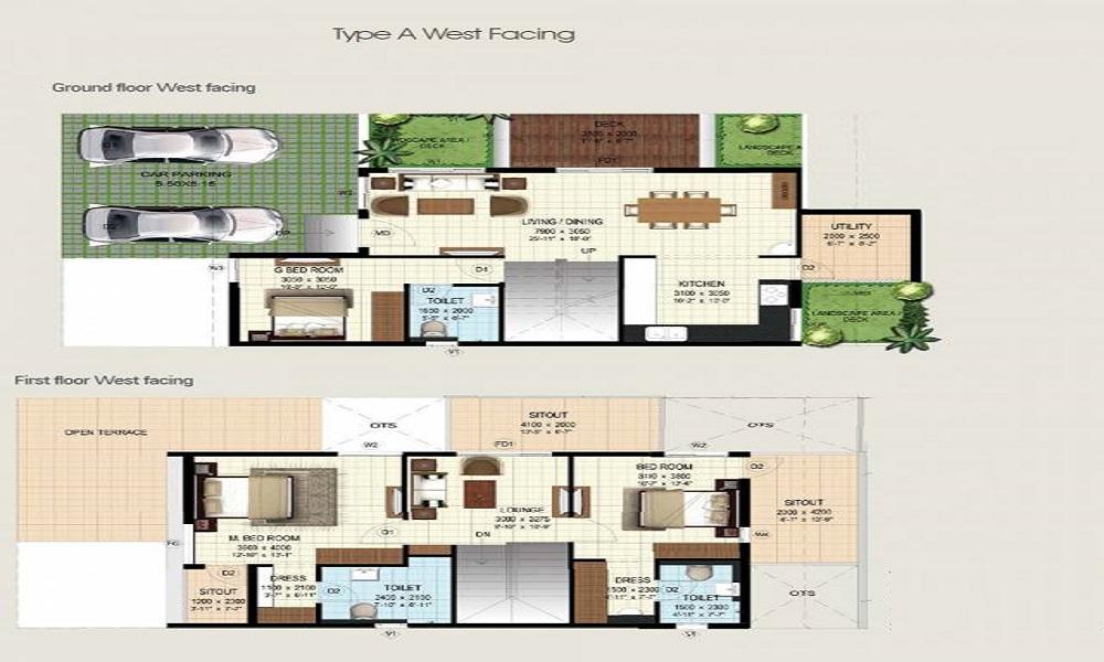 Serene Woods Floor Plan