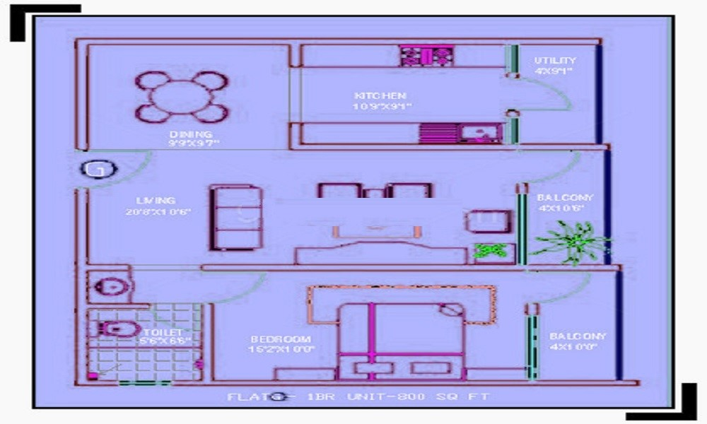 Parth Kristal Floor Plan