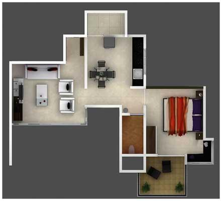 Prestige D Villa Floor Plan