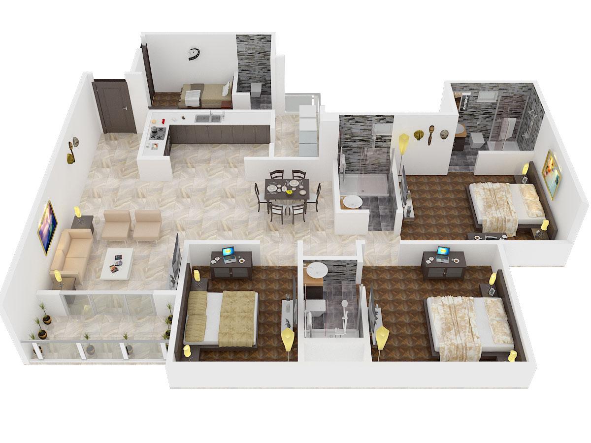 Prestige El Dorado Floor Plan