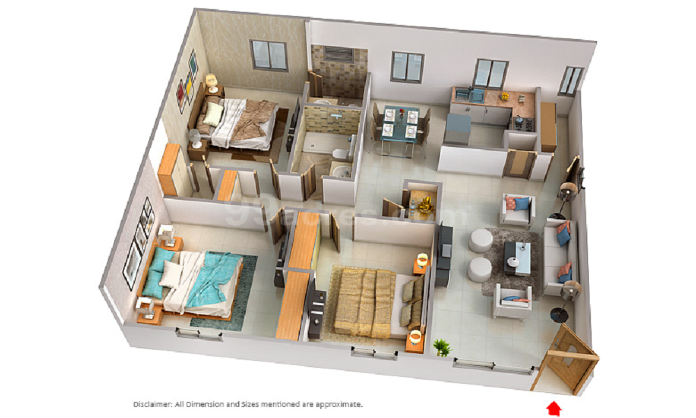 Prestige Greenwoods Floor Plan