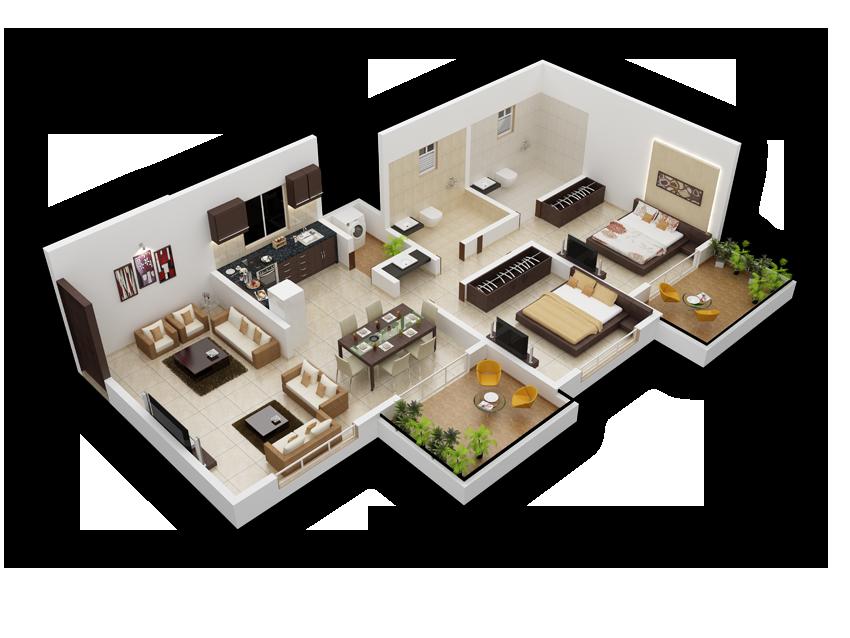 PSR Garden Floor Plan