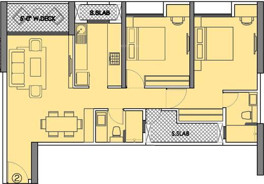 PSR Residency Floor Plan