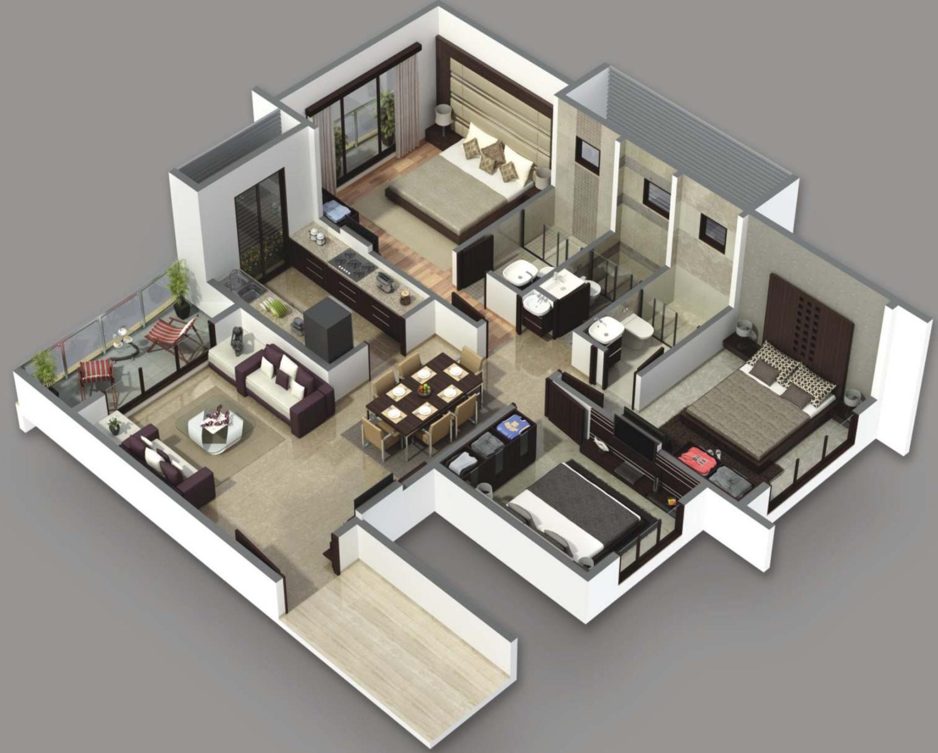 Ramky Samruddhi Floor Plan