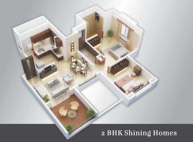 Ramky Utsav Apartments Floor Plan