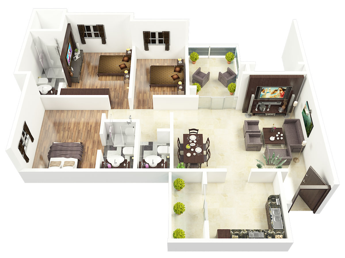Redifice Ashmere Floor Plan