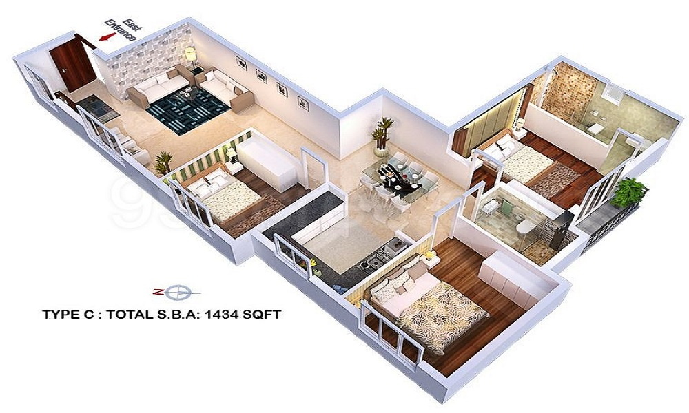 Redifice Private Residences Ashton Floor Plan