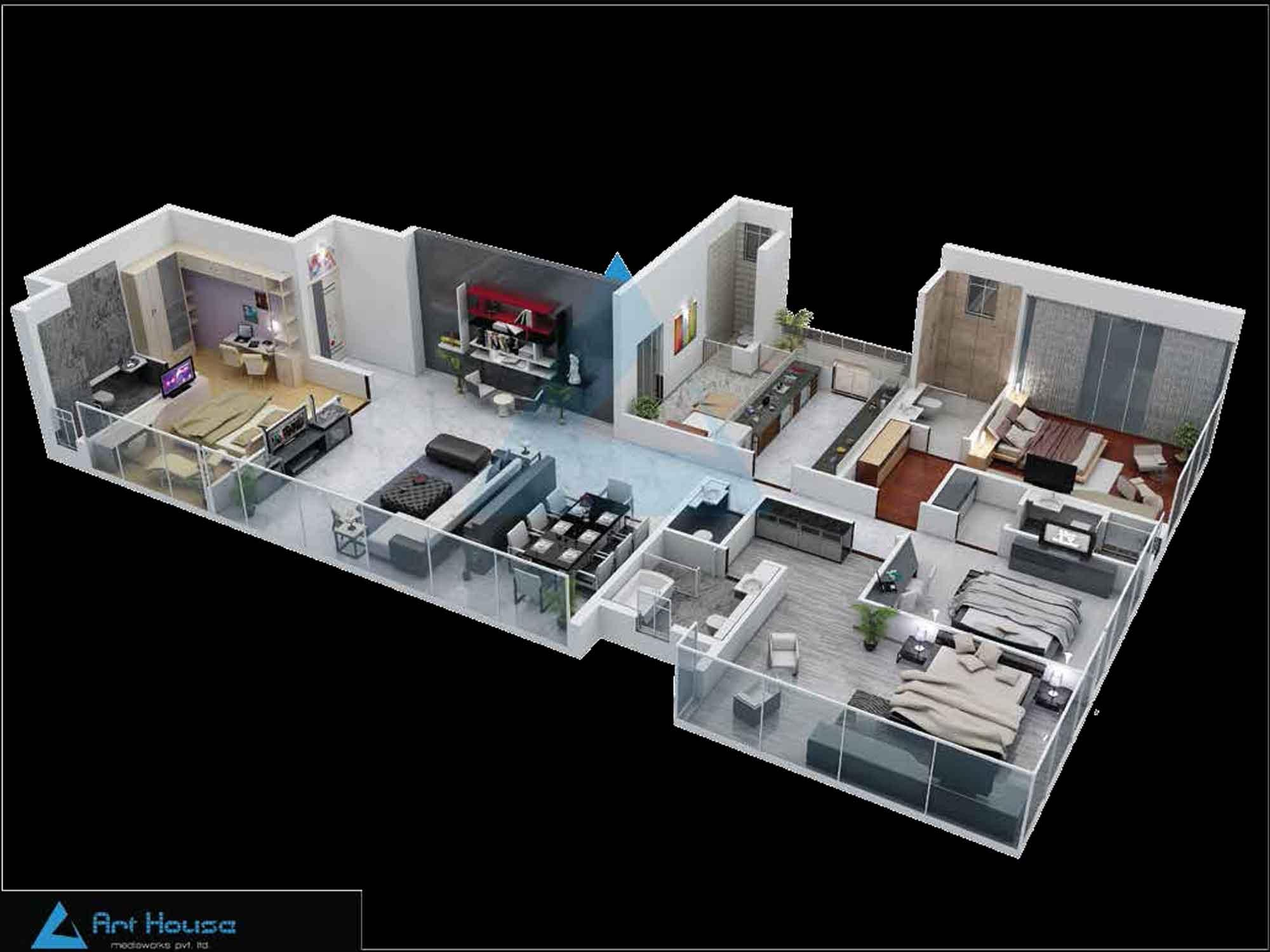 Redifice Private Residences Maddox Edge Floor Plan
