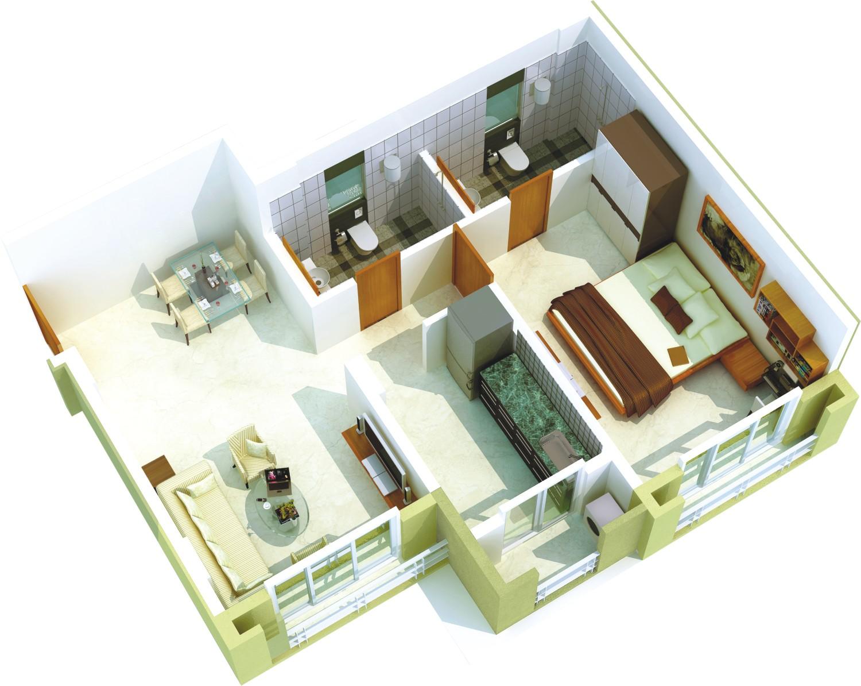 Sandeep Square Floor Plan