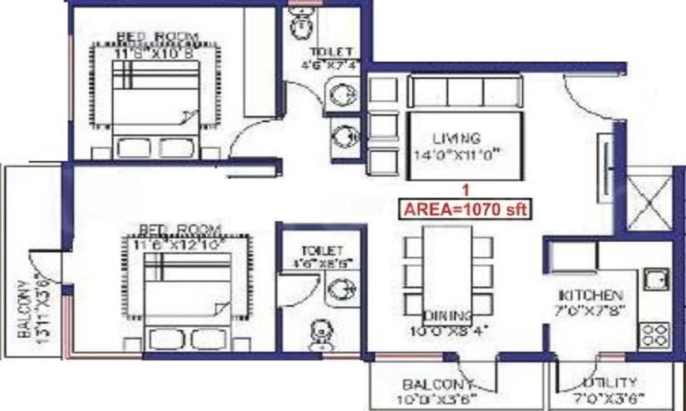 Saveria Oaks Wood Floor Plan