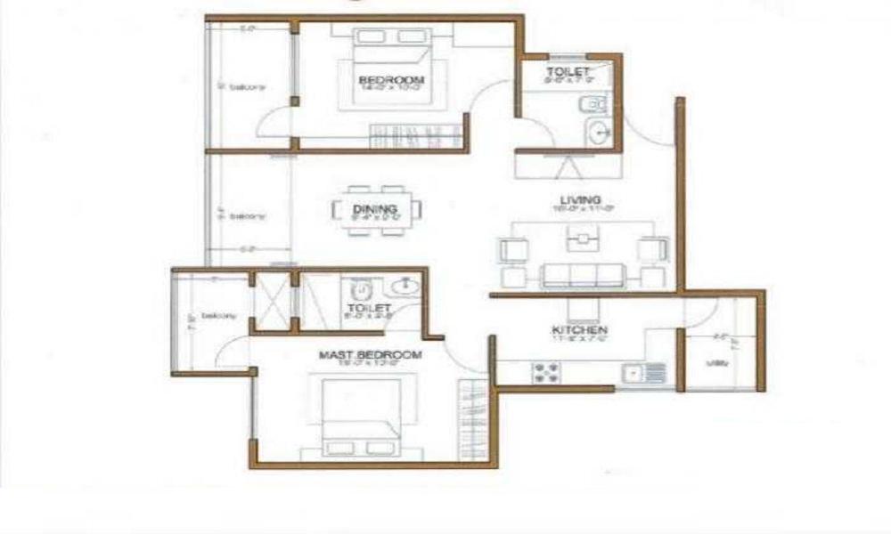 Shri Diya Aster Floor Plan
