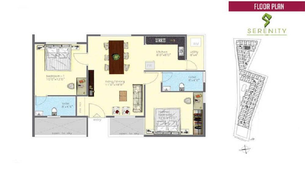 Sigma Serenity Floor Plan