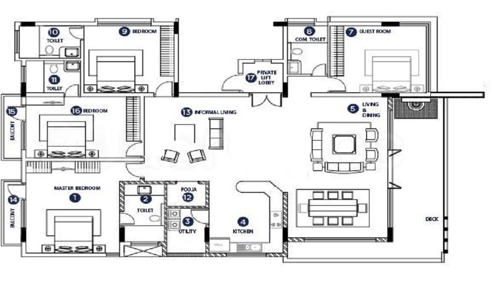 SKAV Aura Floor Plan