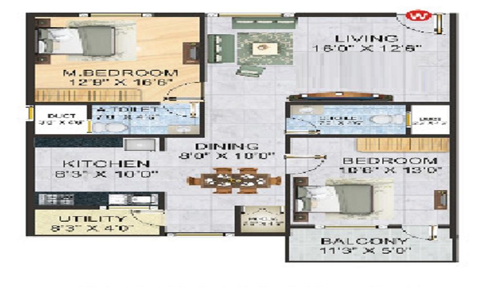SLV Golden Nest Floor Plan